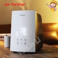 Anion Humidifier Car Household Humidifier Negative Ion Air Purifier Purification Machine Car Oxygen Bar DEM F748