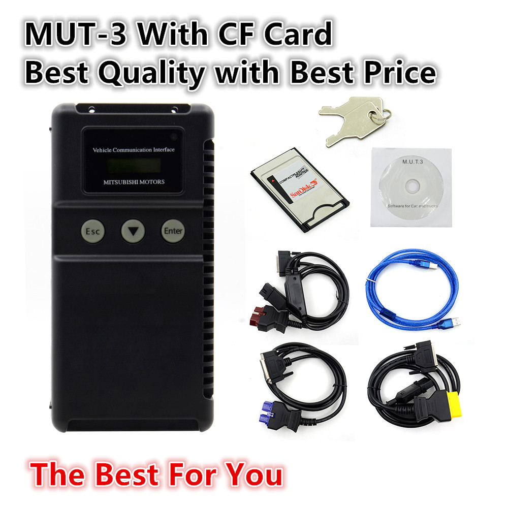 US $399 6 10% OFF|Mut 3 Mut III Scanner for M itsubishi MUT3 for Cars and  Trucks MUT 3 Diagnostic tool MUT 3 for mi tsubishi mut 3-in Electrical