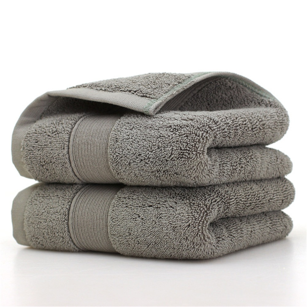 Ultra Soft 2 Pack Bath Towels 70*140cm 100% Pure Ringspun Cotton  Ideal for everyday use Easy care machine wash-in Bath Towels from Home & Garden