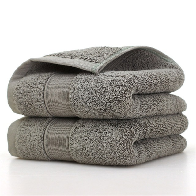 Ultra Soft 2 Pack Bath Towels 70*140cm 100% Pure Ringspun Cotton  Ideal for everyday use Easy care machine wash