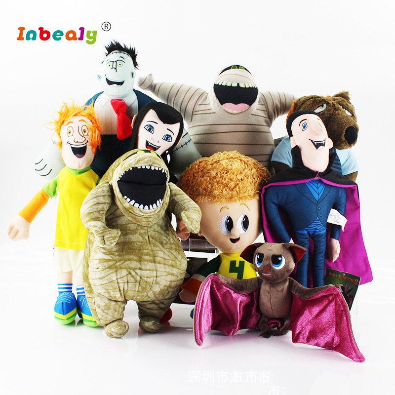 8 Style Hotel Transylvania Plush Toys 18cm Dracula Bat Stuffed Animals Plush Dolls Toy Soft Toy Brinquedo Children Birthday Gift toys for children dolls girls plush snorlax model birthday gifts cross stitch knuffel doudou stuffed animals soft toy 70a0513