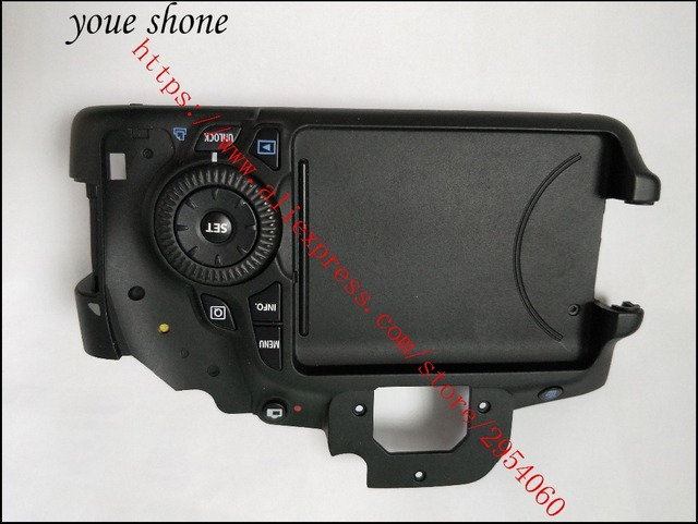 New Repair Parts For Canon Eos 60d Back Cover Rear Shell Units With