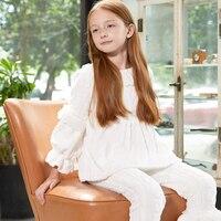 Pajamas Kids Autumn Winter Children Long Sleeve Sleepwear Sets Toddler Girls Christmas Pajamas Sets Pyjamas Kids Clothes Suits