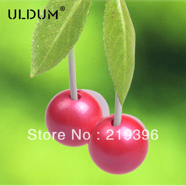 Cherry metal earphone  1205
