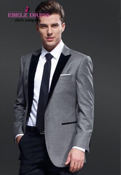 Dark Grey Blazer Black Pants Escp