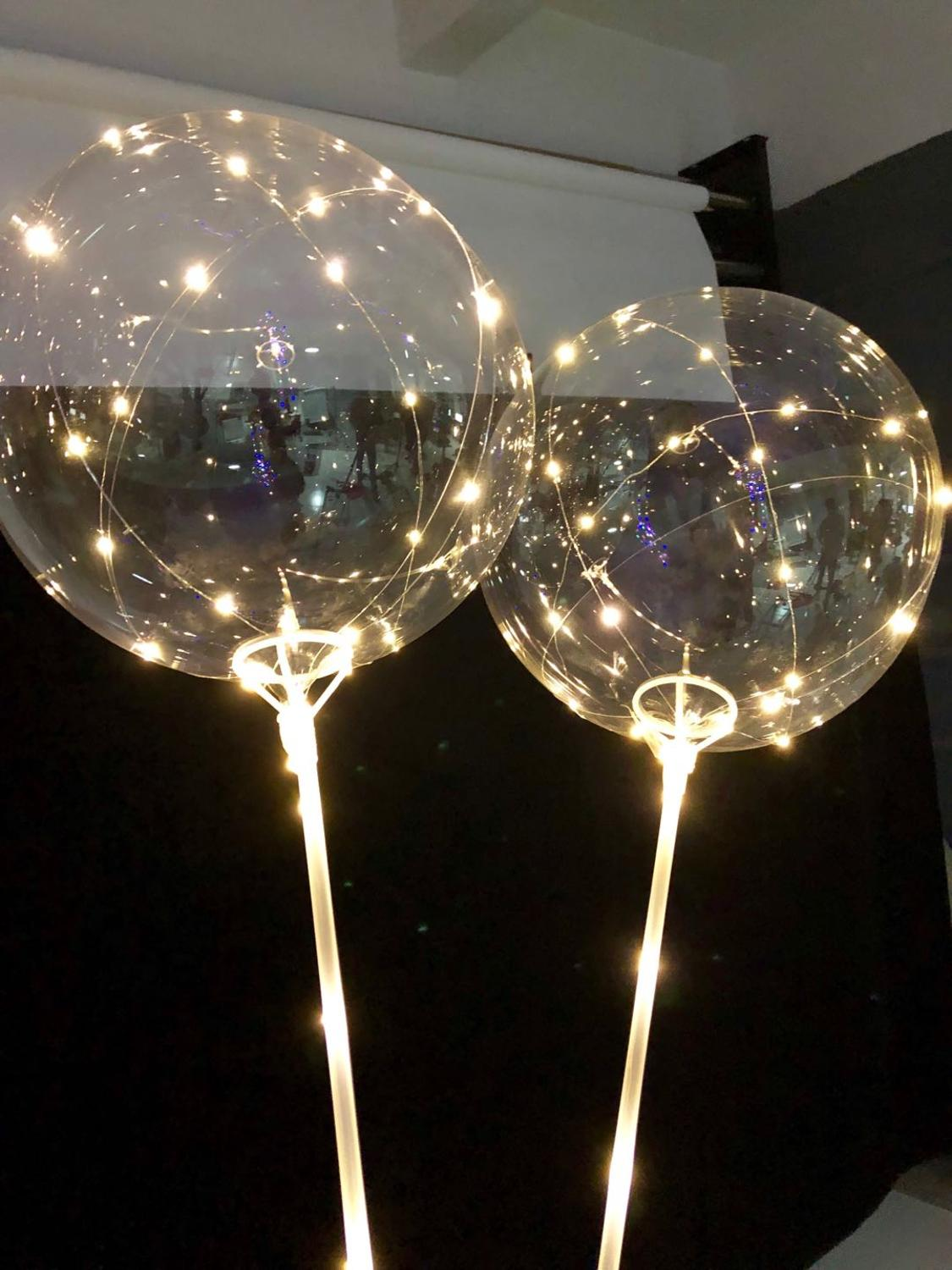 Image 3 - 10/20pcs 20Inch globos Led Balloon helium to inflate balloons wedding birthday party decorations helium balloon ballon mariage-in Ballons & Accessories from Home & Garden