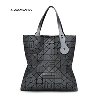 Cooskin 2017 Diamond Lattice Famous Fold Over Bags Brand Bao Bao Women Handbags Shopper Bag Shoulder