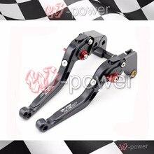 Cheap price fite For HONDA CBR 600RR 2007-2016 Black Motorcycle Adjustable Folding Telescopic Braking Bracket logo CBR600RR