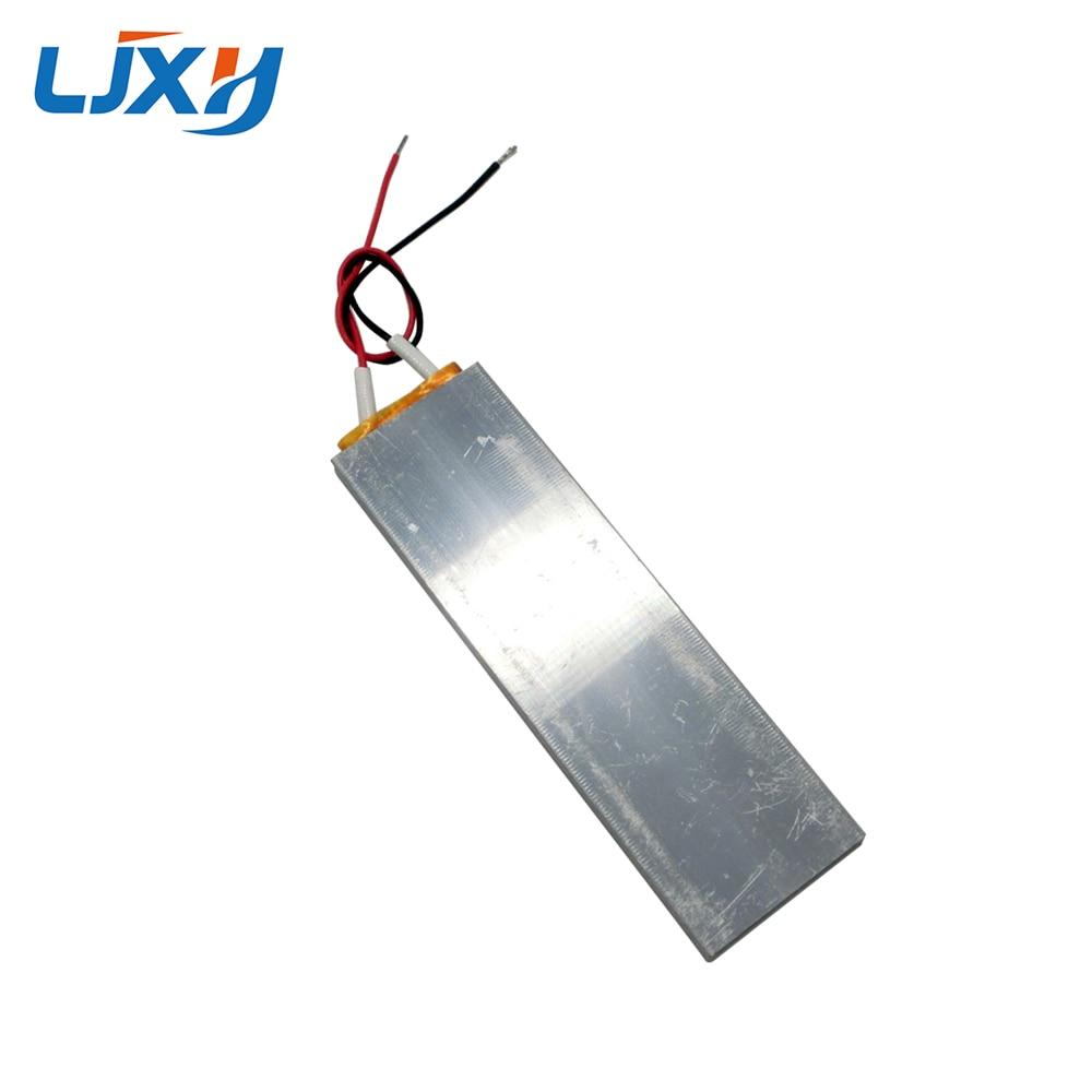 LJXH 2PCS PTC Heating Element 220V 100x30x6mm 65/70/120/270 degrees Constant Temperature PTC Ceramic Heater Thermostat