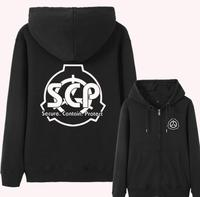 SCP Special Containment Procedures Foundation Super Natural Costume Hoodie Jacket Coat