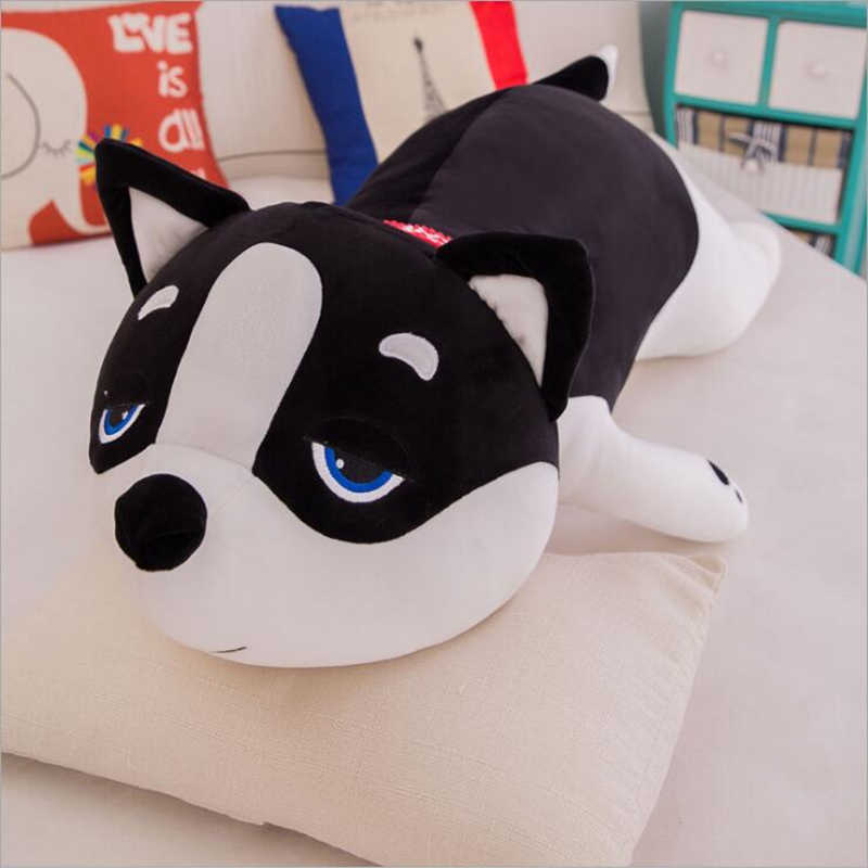 New Cute 50cm 80cm Large Size Dog Plush Toys Lovely Soft Stuffed Dolls Baby Kids Gift Room Sofa Decorate Pillows Shiba Inu Pet
