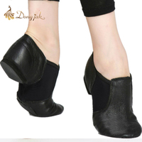 Genuine Leather Jazz Dance Shoes Children Shoes For Men And Women Salsa Dance Shoes Soft Bottom
