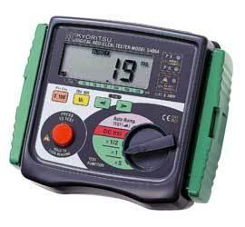 Быстрое поступление KYORITSU 5402D цифровой RCD тестер (230 В) 5/10/30/100/300/500 мА