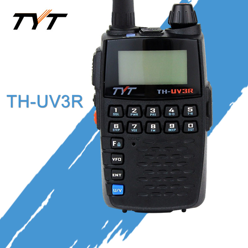Apply To TYT TH-UV3R Mini Handheld Two Way Radio VHF/UHF Amateur HT Radio USB Charging CTCSS/DCS Walkie Talkie FM Transceiver