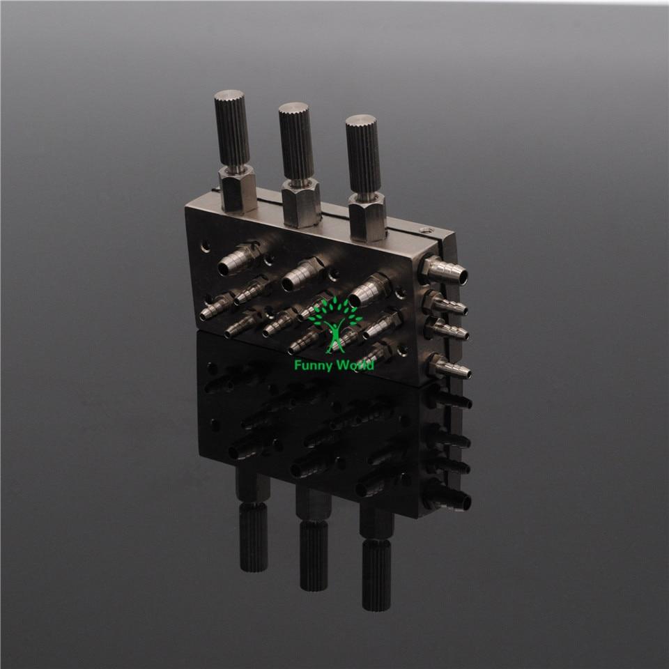 ФОТО 3 In 1 Dental Valve Control Dental Chair Air / Water Diaphragm Membrane Valve