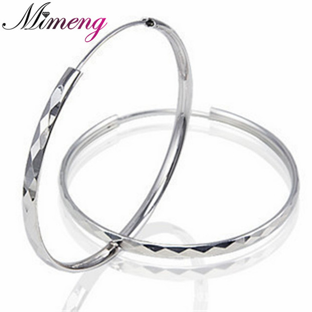 Fine Jewelry 100 Sterling Silver Jewelry Female Exaggerated