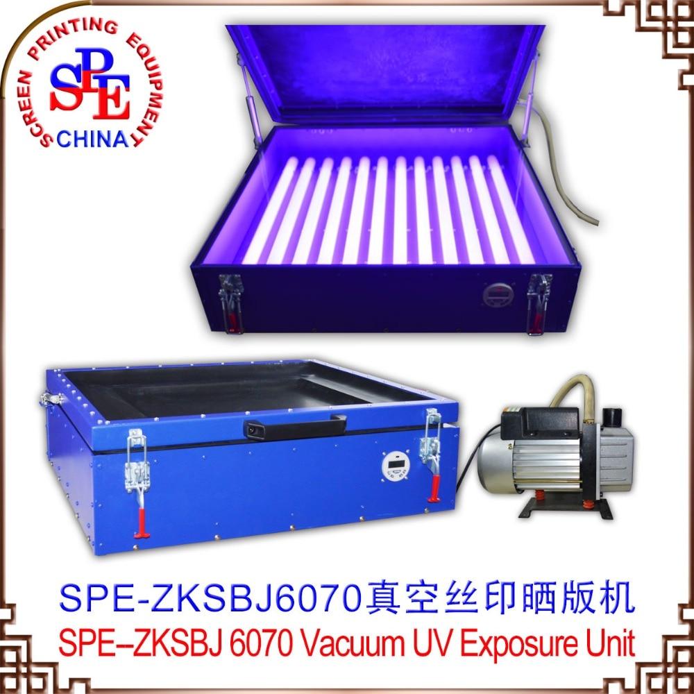 SPE-ZKSBJ110 6070 Vacuum UV Exposure Unit  SCREEN PRINTING MAHCINE silk screen plate exposure unit with vacuum exposure unit price expsoure unti for sale page 3