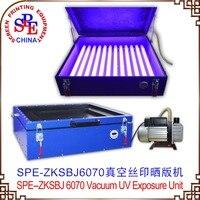 SPE ZKSBJ110 6070 Vacuum UV Exposure Unit SCREEN PRINTING MAHCINE