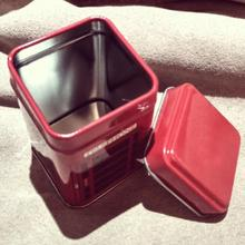 Hot New Fashion Vintage Metal Candy Trinket Tin Jewelry Iron Tea Coin Storage Square Box Case