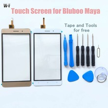Original Bluboo Maya Touch Screen with Tools Glass Panel Accessories Smart Phone Replacement For Bluboo Maya Smart Phone