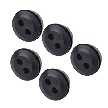 LETAOSK New 5Pcs 2 Hole Fuel Gas Tank Line Grommet Replacement Fit for String Craftsman Trimmer Lawn Mower Chainsaw