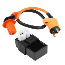Ignition Coil DC CDI Box Kit for Kymco SYM Vento Scooter