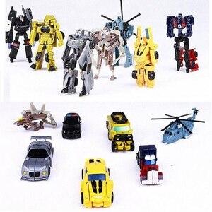 Image 2 - Оригинальная коробка, 7 стилей, роботы трансформеры, экшн фигурки, мини автомобили, робот, Классическая модель, игрушки для детей, подарки, Brinquedos