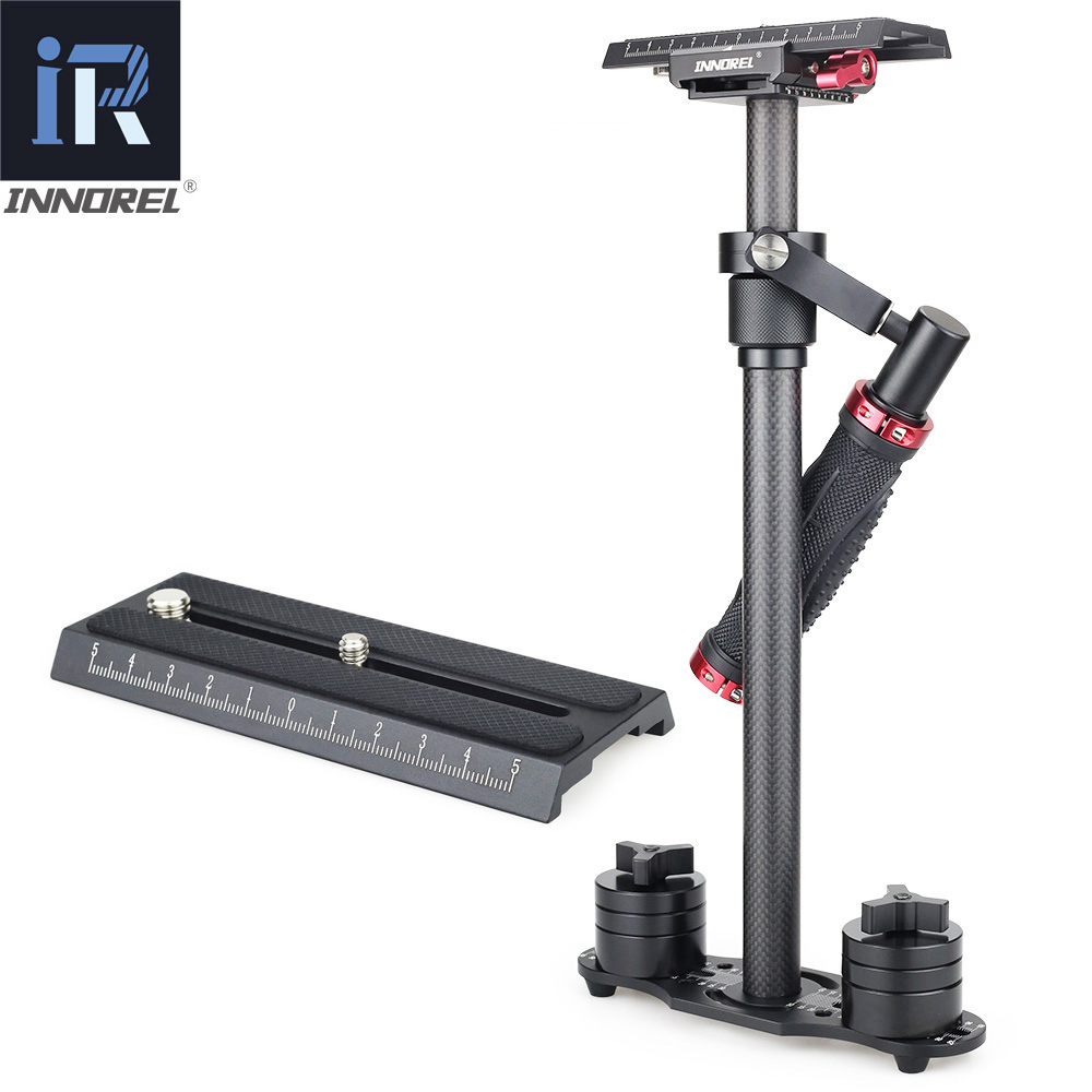 INNOREL SP70C Carbon Fiber Handheld Steadicam DSLR Camera Stabilizer Video Steadycam Camcorder Steady Glidecam Filmmaking Gimbal