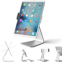 360 Degree Rotatable Aluminum Alloy Desktop Holder Tablet Stand For Samsung Galaxy Tab Pro IPad Pro