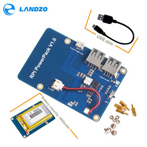 Image 1 - Lithium Battery Pack Expansion Board Power Supply with Switch for Raspberry Pi 3,2 Model B,1 Model B+ Banana Pi