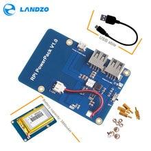 Lityum pil paketi genişletme kartı güç kaynağı ahududu Pi 3,2 Model B için anahtarı, 1 Model B + muz Pi