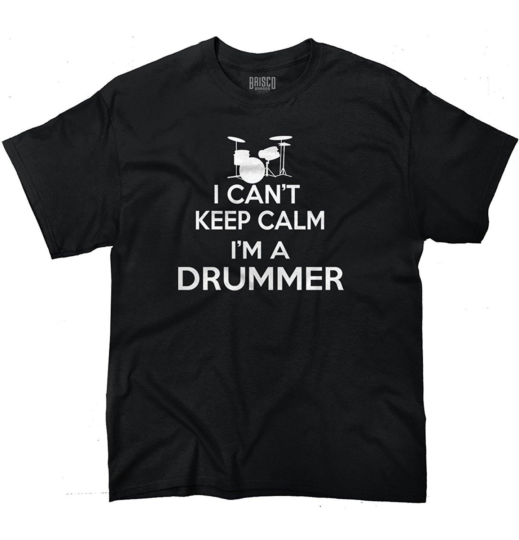 Design t shirt keep calm - I Can T Keep Calm I M A Drummer Funny Graphic Design T Shirt
