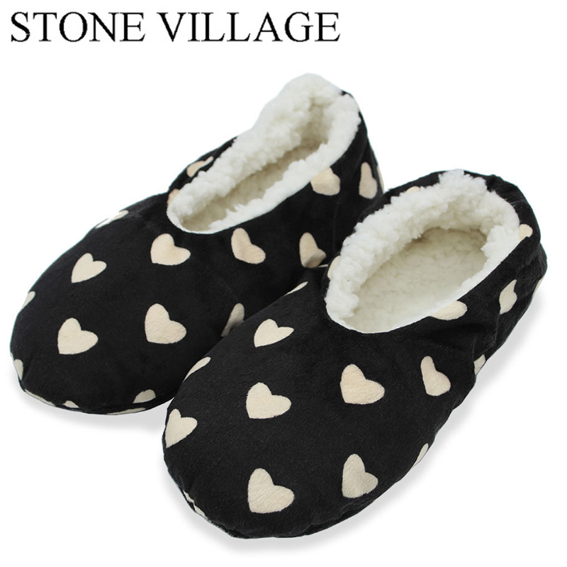 STONE VILLAGE New Arrival Heart Pattern Spring & Autumn Slippers Women Home Shoes Comfortable Indoor House Women Slippers Flats 7 24h programmable adjustable thermostat temperature control switch with child lock