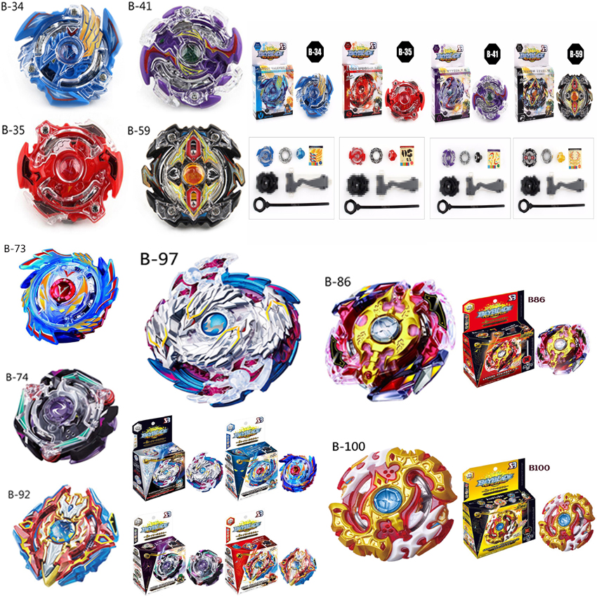 Beyblade burst starter B-86 B-92 B-100 B-97 Legend Spriggan beyblades with launcher stater set high performance battling top