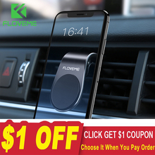 FLOVEME Magnetic Car Phone Holder For Phone In Car Mobile Support Phone Mount St