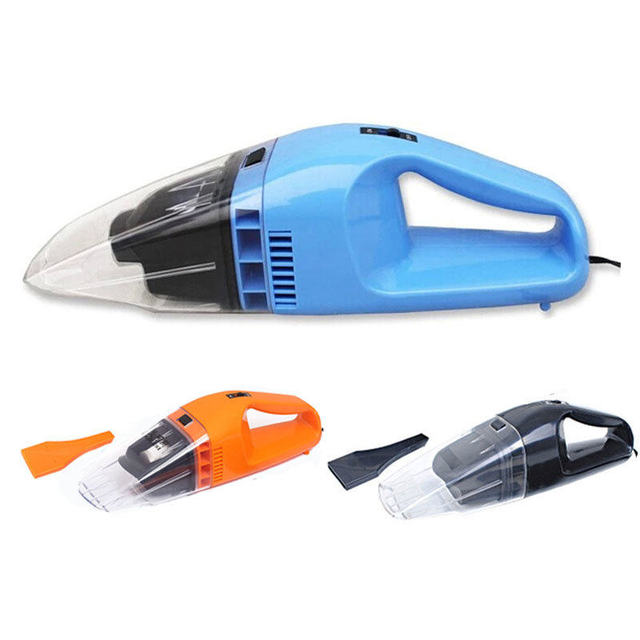 3 Color Available ! 75W Car cleaning supplies portable small mini car wet and dry handheld vacuum cleaner