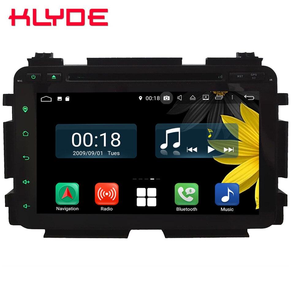 8 Восьмиядерный 4G Wi Fi Android 8,1 4G B ram 6 4G B rom RDS BT автомобильный dvd плеер стерео радио gps ГЛОНАСС для Honda HRV Vezel 2013 2018