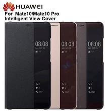 Original Huawei Smart View Abdeckung Telefon Schutz Abdeckung Für Taube 10 Mate 10 Pro Mate10 Flip Fall Gehäuse Schläft Funktion fall