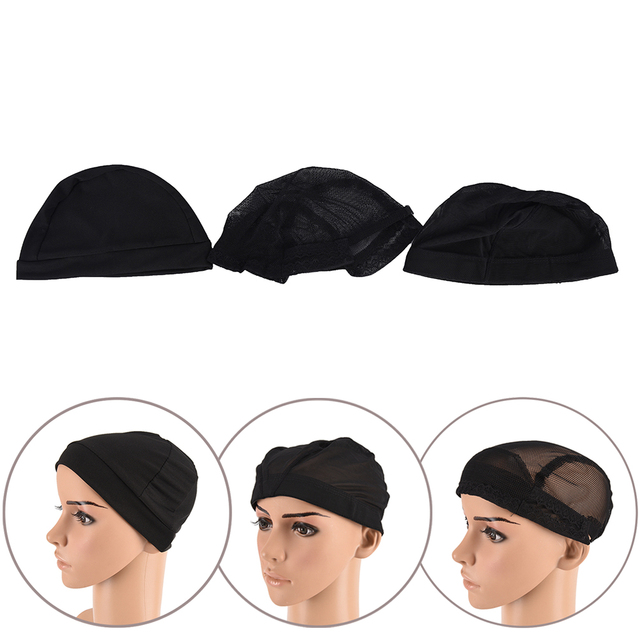 1pcs Wig Caps For Making Wigs Hair Weaving Stretch Adjustable Wig
