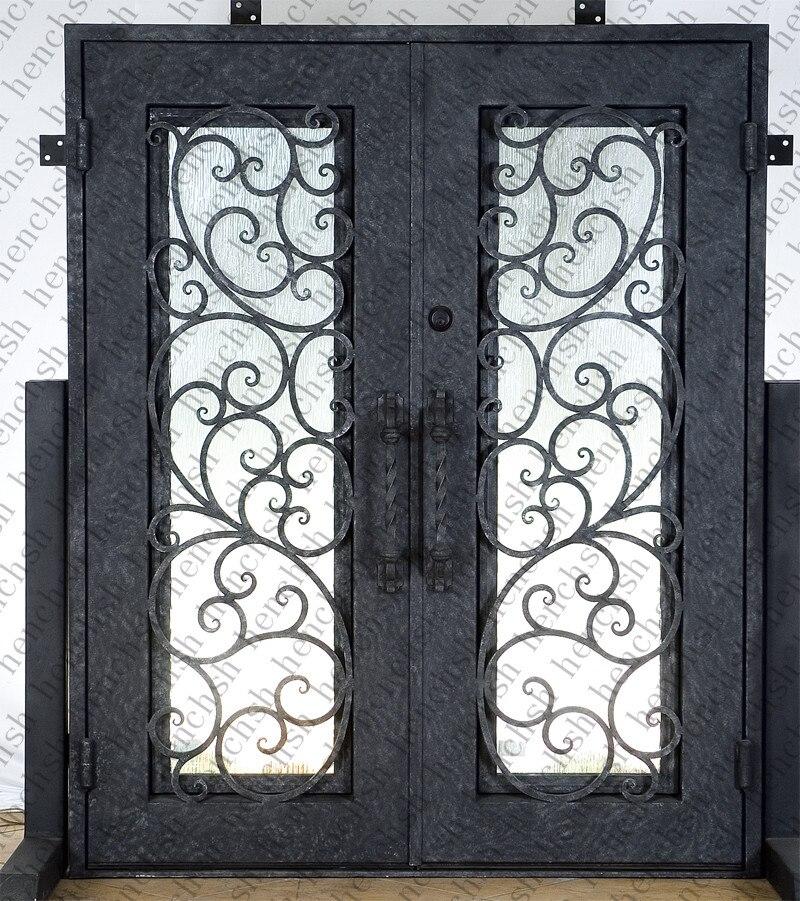 indoor wrought iron doors metal door price iron french patio doors