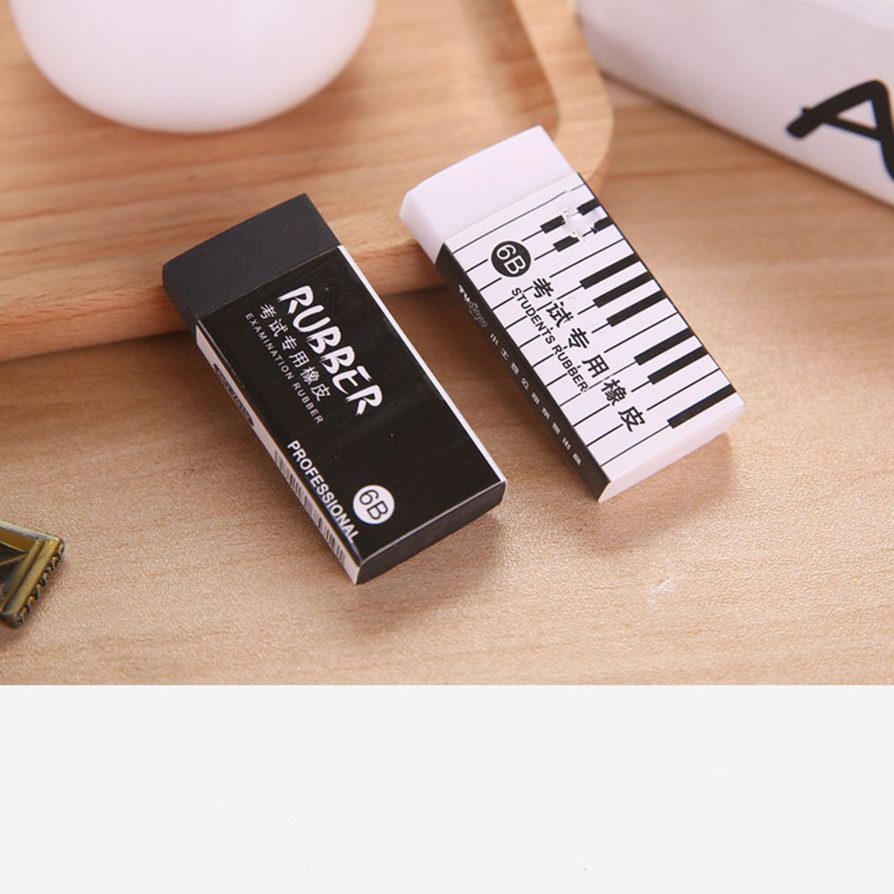 New 6B Piano Exam With Eraser Student Correction Pencil Eraser Learning Stationery Hot Sale School Office Supply