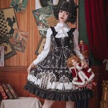 Vestidos Mujer Real Vintage Zanzea Original Lolita vestido exuberante encaje Vestidos amarga Fleabane restaurando maneras antiguas 2019 nuevo