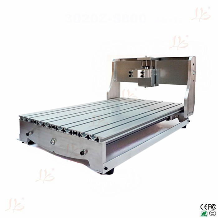 customized CNC frame kit 6040Z with spindle clamp holder bed ball screw optical axis bearing