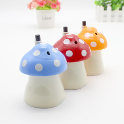 Nieuwe Collectie Creative Huis En Paddestoelvormige Automatische Tandenstoker Houder Pocket Kleine Tandenstoker Doos