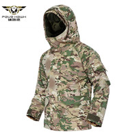 G8 Men's Winter Tactical Jacket Army Camouflage Coats Thick Warm Fleece inside Military Jacket Waterproof Windbreaker S 3XL