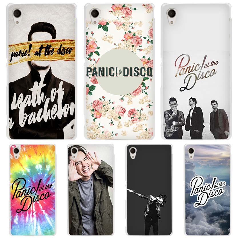 panic at the disco cool man hard transparent case cover. Black Bedroom Furniture Sets. Home Design Ideas