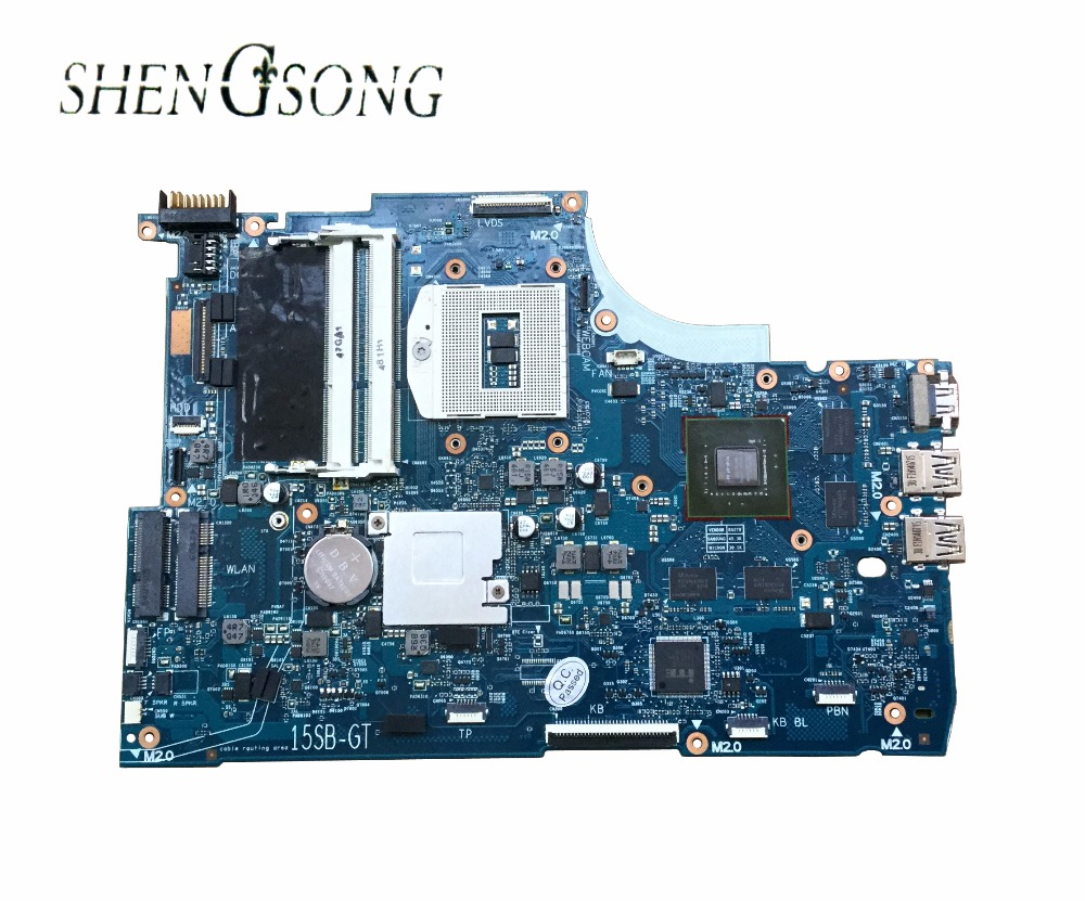 Free Shipping 720569-501 for HP ENVY15-J 15-j laptop motherboard HM87 750M/2G 720569-001 Notebook systemboard 100%Tested free shipping 720266 001 motherboard for hp pavilion 17 j notebook pc 740m 2g