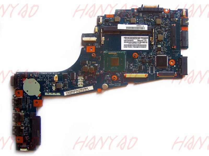 K000891170 LA-B303P Para Toshiba C55 motherboard mainboard ddr3 100% testado