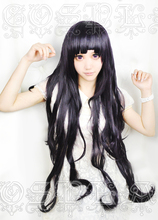 Anime Dangan Ronpa 2 Danganronpa Mikan Tsumiki Cosplay Wigs 100cm Long Heat Resistant Synthetic Hair Wig + Wig Cap
