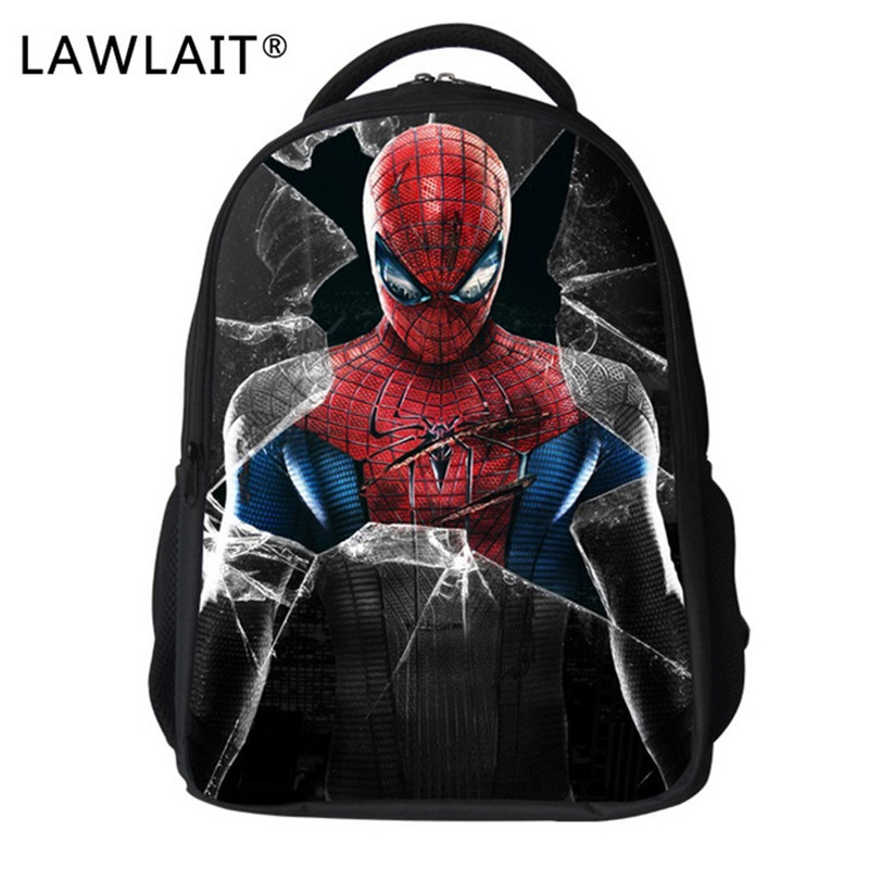 daa11b63bfa7 Spider Man Bag Children School Bags for Boys Cartoon Bagpack Super Hero  Schoolbag Kids Kindergarten Mochila